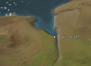 Bloodcliffs map