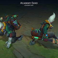Academy Ekko Concept (by Riot Artist <a href=