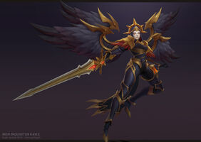 Kayle Update Eiserne Inquisitorin model 02