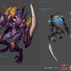 Kha'Zix Concept 5 (by Riot Artist <a href=