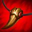 Kościany Naszyjnik (czerwony) przedmiot