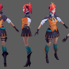 Battle Academia Lux Model