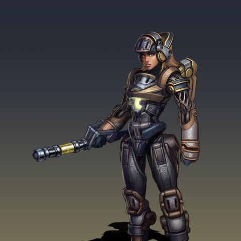Steel Legion Lux Concept (by Riot Artist <a href=