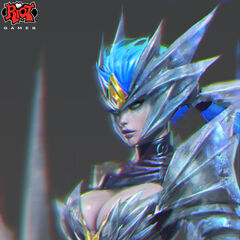Ice Drake Shyvana Concept 1 (by Riot Artist <a href=