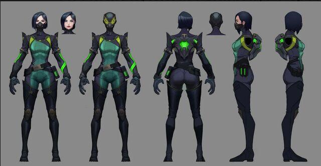 Viper Valorant Concept 01