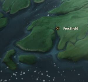 Frostheld map