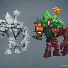 Festive Maokai Update Model (by Riot Artists <a href=