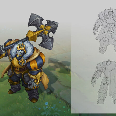 King of Spades Mordekaiser Concept (by Riot Artist <a href=