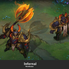 Infernal Mordekaiser Update Concept 1 (by Riot Artist <a class=