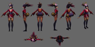 Akali Update Blutmond Model 02