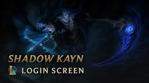 Cienisty Skrytobójca - ekran logowania