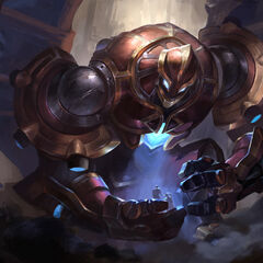 Hextech Galio Update Splash Concept 4 (by Riot Artist <a href=
