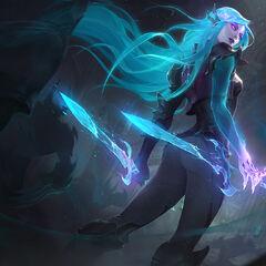 Death Sworn Katarina Splash Concept 2 (by Riot Artist <a href=