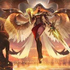 Transcended Kayle Splash Concept 3 (by Riot Artist <a href=