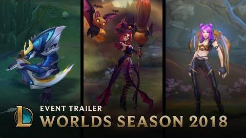 Welcome to Worlds Season Worlds Season 2018 Event Trailer - League of Legends