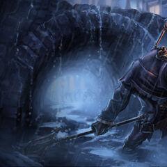 Undertaker Yorick Splash Concept (by Riot Artist <a href=