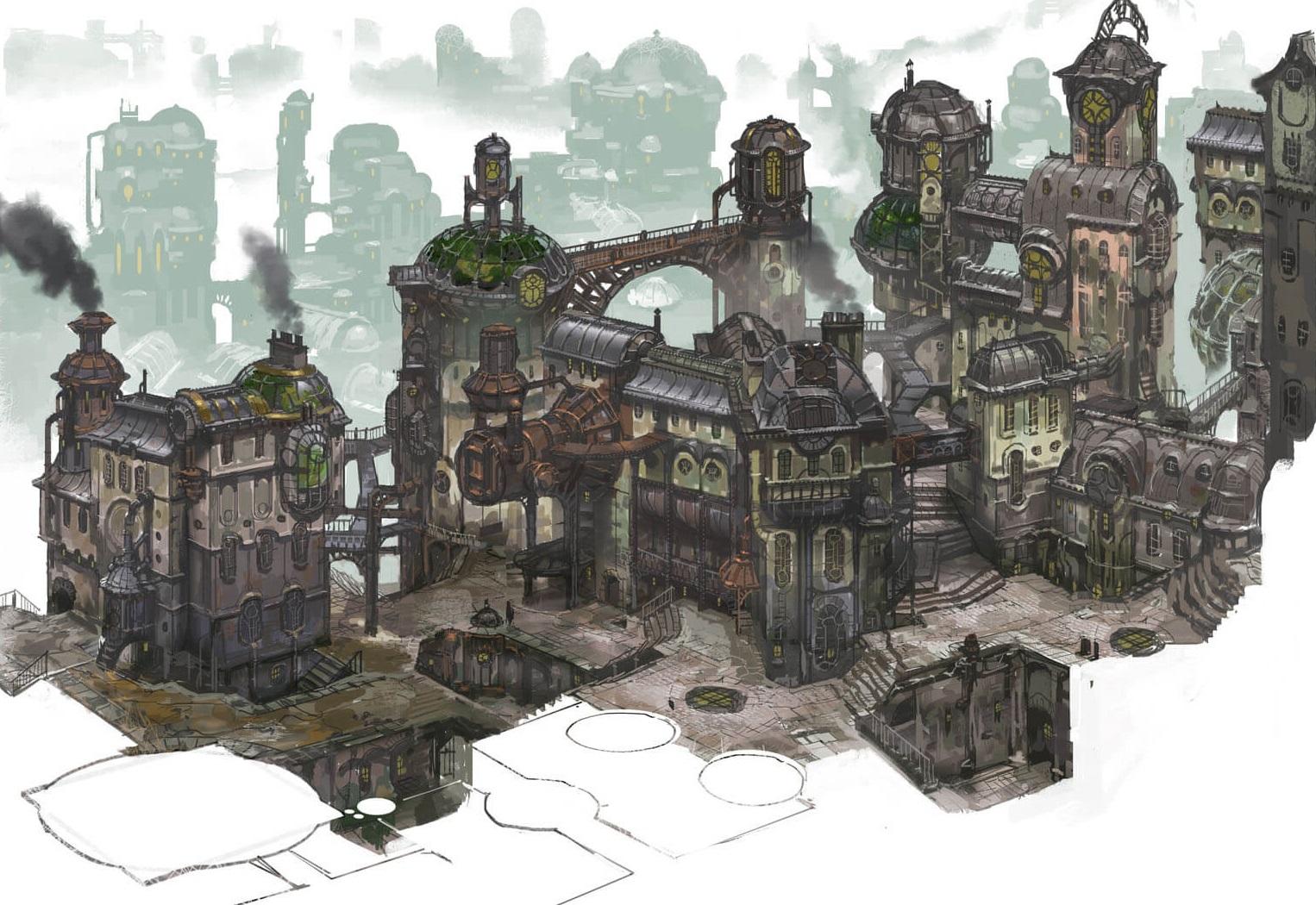 Image Zaun City Of Iron And Glass Jpg League Of Legends Wiki