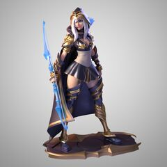 Ashe Statue Model 1 (by Riot Artists <a href=