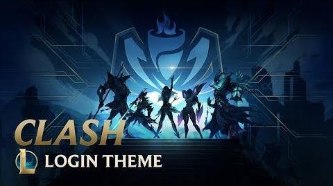 Clash (Update) - Login Screen