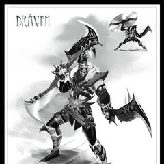 Draven Concept 1 (by Riot Artist <a href=
