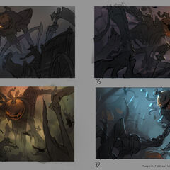 Pumpkinhead Fiddlesticks Splash Update Concept 1 (by Riot Artist <a href=