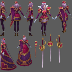 Heartpiercer Fiora Model