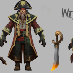 Captain Gangplank Model 2 (by Riot Artists <a href=