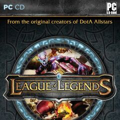 League of Legends CD Cover