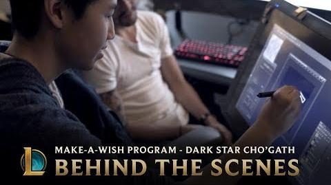 Making Dark Star Cho'Gath - Behind the Scenes League of Legends