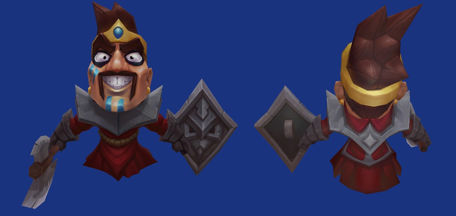 Minion Draven red melee