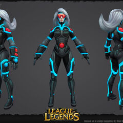 PAX Sivir Update Model 1 (by Riot Artists <a href=