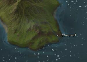 Stonewall map