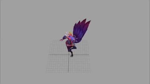 Xayah's Auto Attack Animation
