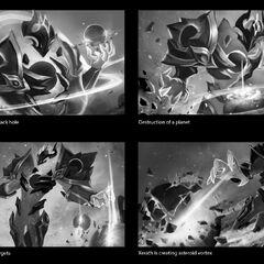 Dark Star Xerath Splash Concept 1 (by Riot Contracted Artist <a rel=