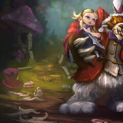 1st Annie in Wonderland