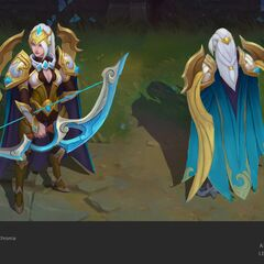 Championship Ashe Concept 1 (by Riot Artist <a href=
