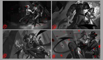 Evelynn Update Tango- Splash Konzept 01