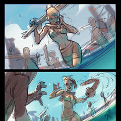 Pool Party Fiora Splash Concept 2 (by Riot Artist <a href=