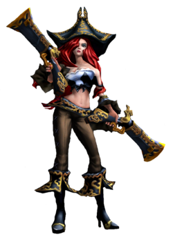 Miss Fortune Render alt