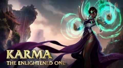 Prezentacja Bohatera - Karma, Oświecona