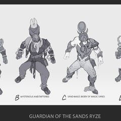 Guardian of the Sands Ryze Concept 1 (by Riot Artist <a href=