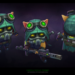Omega Squad Teemo Model 1 (by Riot Artist <a href=