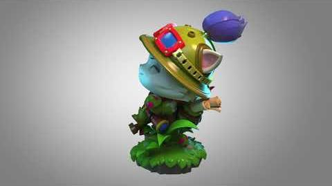 Teemo figure turnable