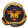 Worlds 2018 Friends Forever GTV Gaming (Gold) Emote