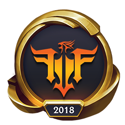 Worlds 2018 Friends Forever GTV Gaming (Gold) Emote