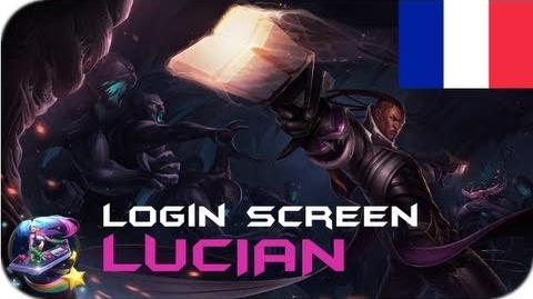 Lucian - Login Screen Français