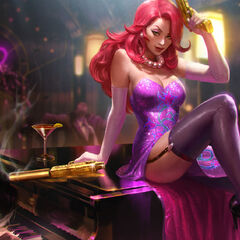 Secret Agent Miss Fortune Update Splash Concept 2 (by Riot Artist <a class=