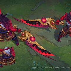 Blood Moon Tryndamere Concept 3 (by Riot Artist <a rel=