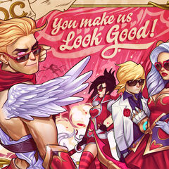 Heartseeker Varus Valentines Day 2015 Card Promo 1 (by Riot Contracted Artist <a rel=