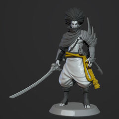 Yasuo Model 1 (by Riot Artist <a href=